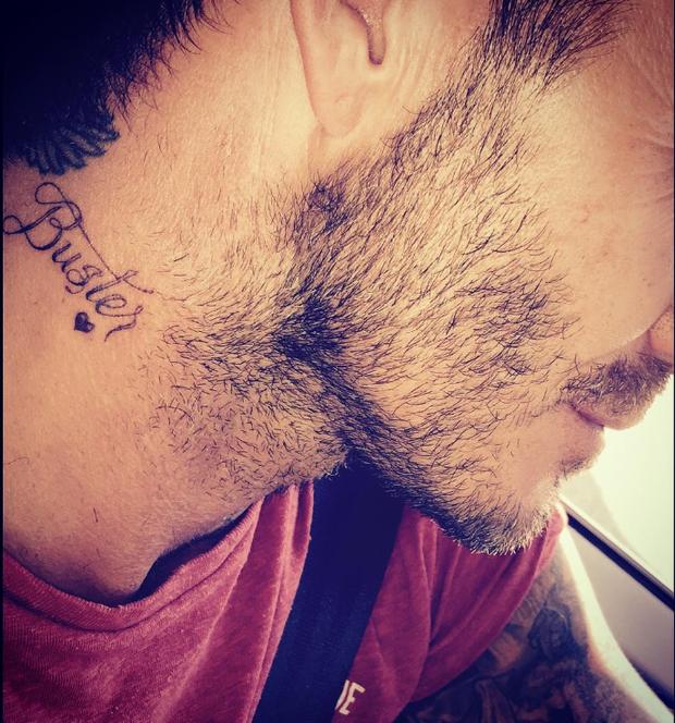 Дэвид Бекхэм сделал татуировку в честь старшего сына