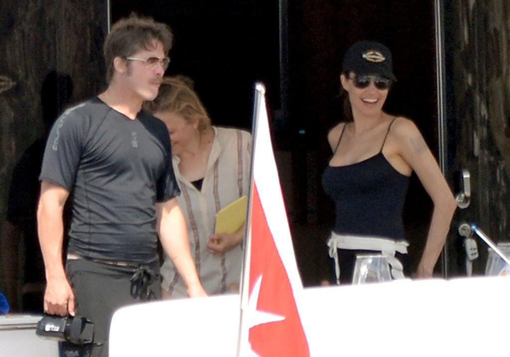 Анджелина Джоли и Брэд Питт отдыхают на Мальте