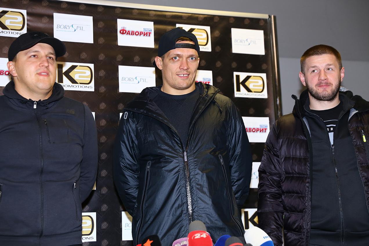 Из ринга в кино: боксер Александр Усик снялся в спортивном экшене