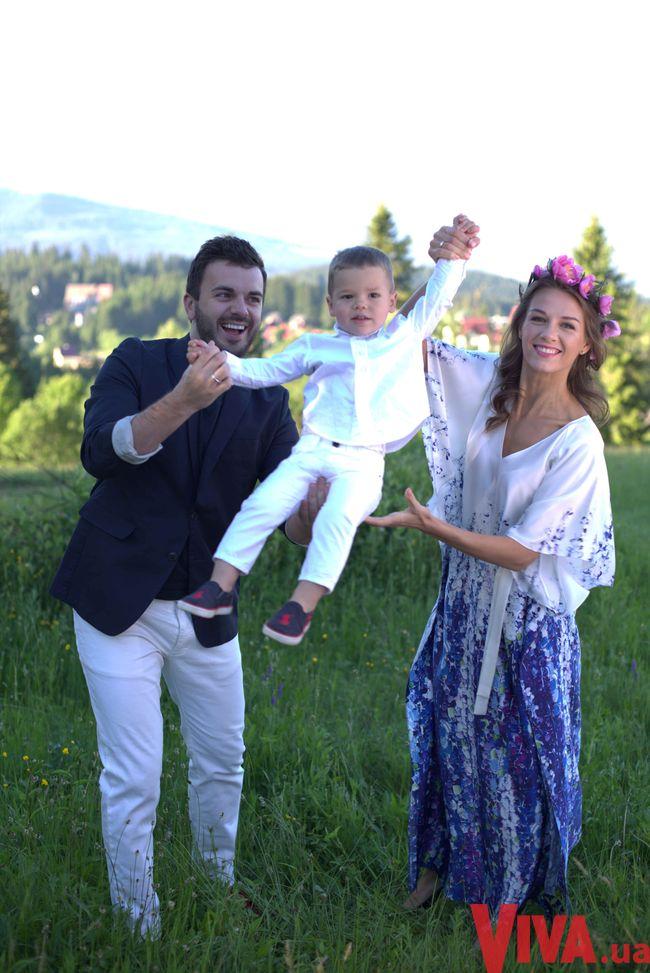 Жена Григория Решетника снялась в нарядах Couture de Fleur