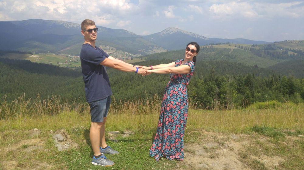 Соломия Витвицкая и ее муж отдохнули в Яремче