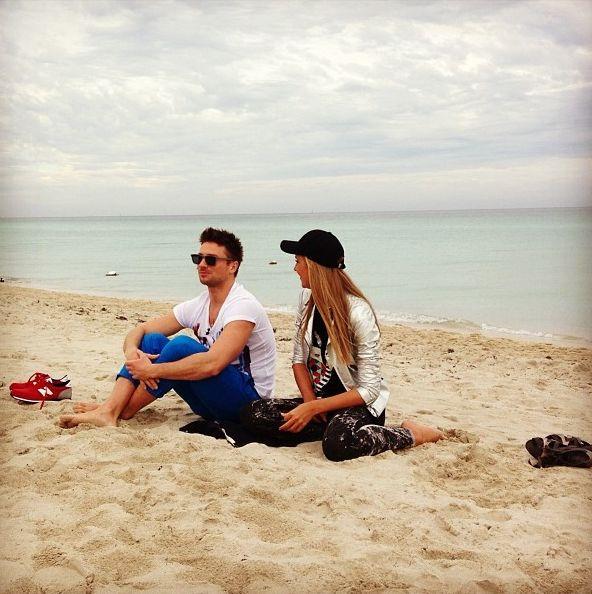 Катя Осадчая и Сергей Лазарев фото