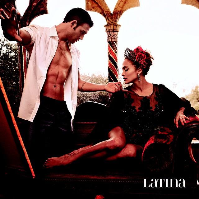Дженнифер Лопес в страстной фотосессии для журнала Latina