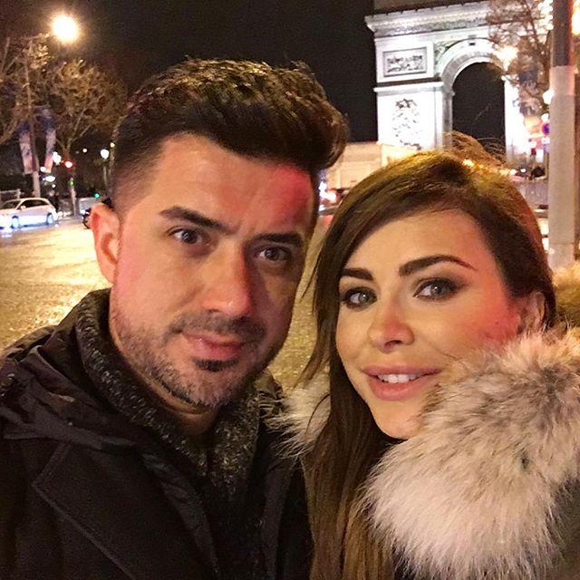 Ани Лорак проводит новогодние праздники с мужем в Париже