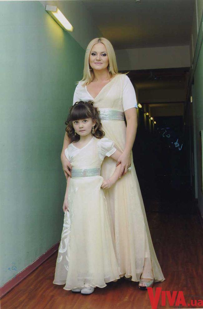 Наталия Бучинская и ее дочь