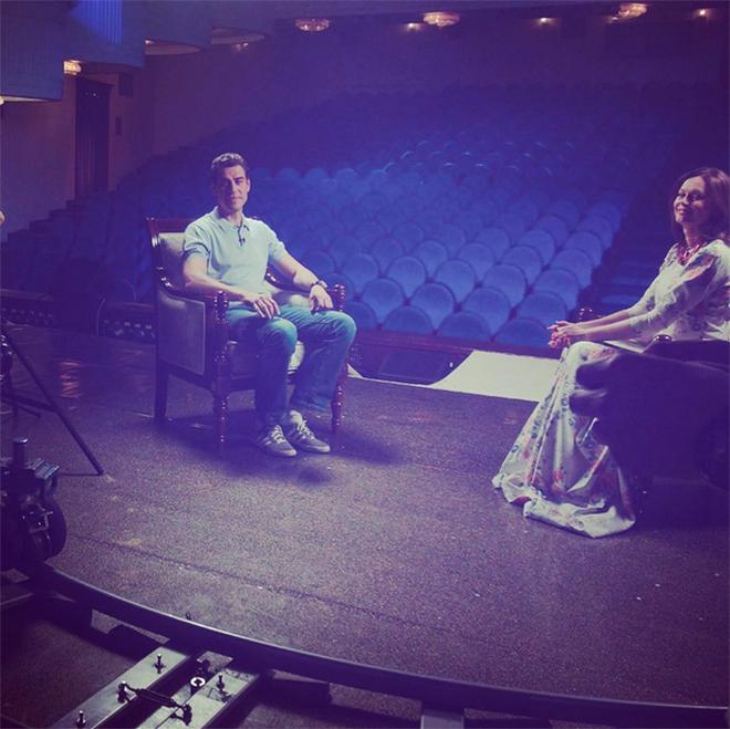 Разговор на сцене с Ириной Безруковой