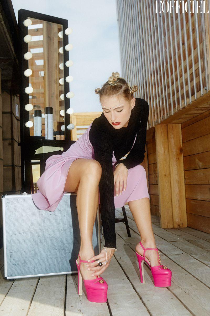 Как Гвен Стефани: экс-Ева Бушмина снялась в необычной фотосессии
