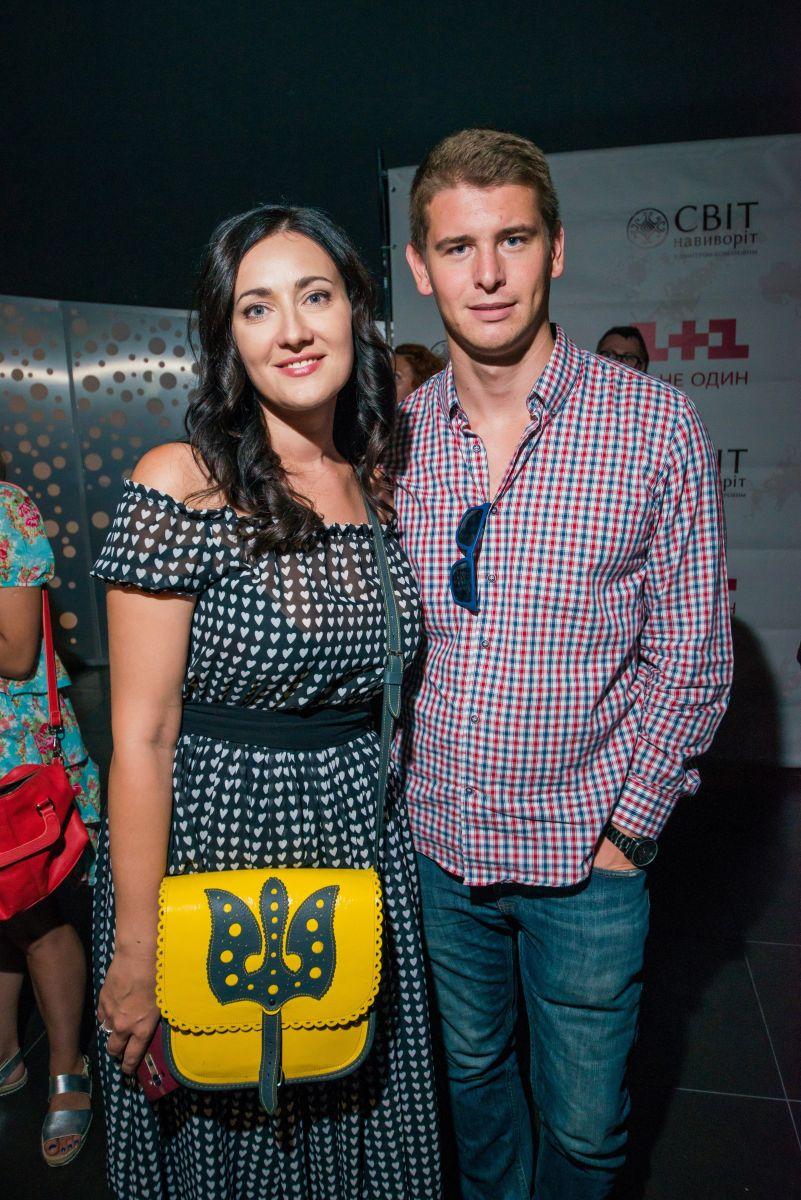 Соломия Витвицкая с мужем Владом Кочатковым