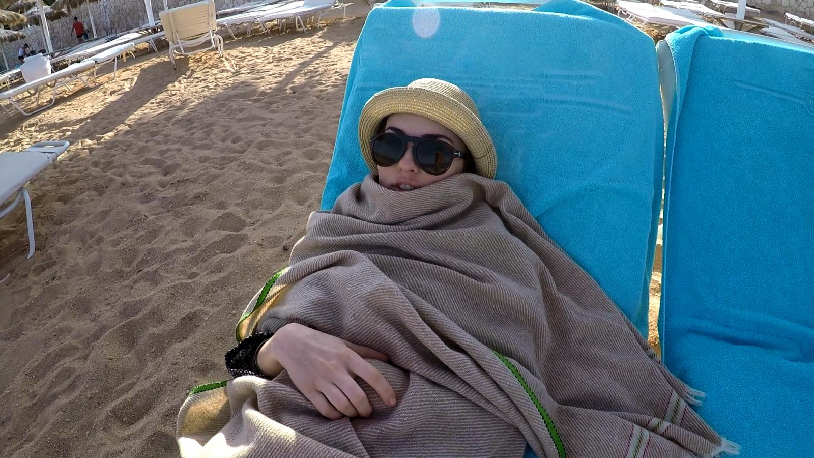 Виктория Булитко на отдыхе