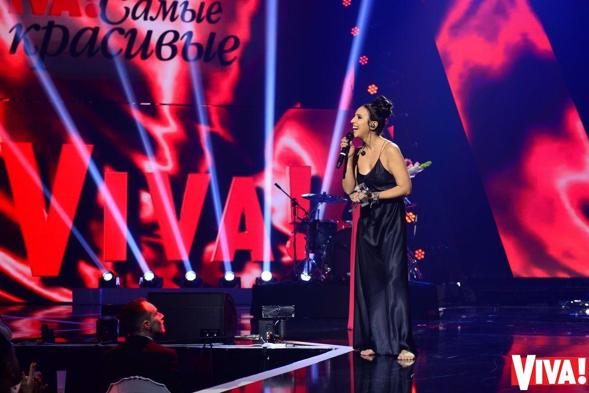Джамала на церемонии Viva! Самые красивые-2017