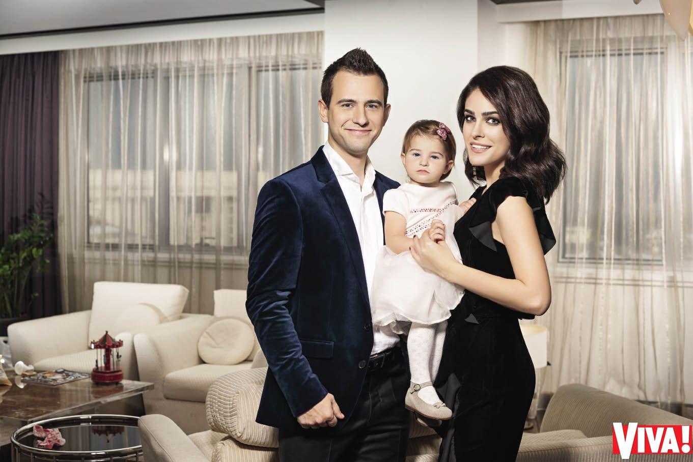 Маша Собко с мужем и дочерью: первая семейная фотосессия