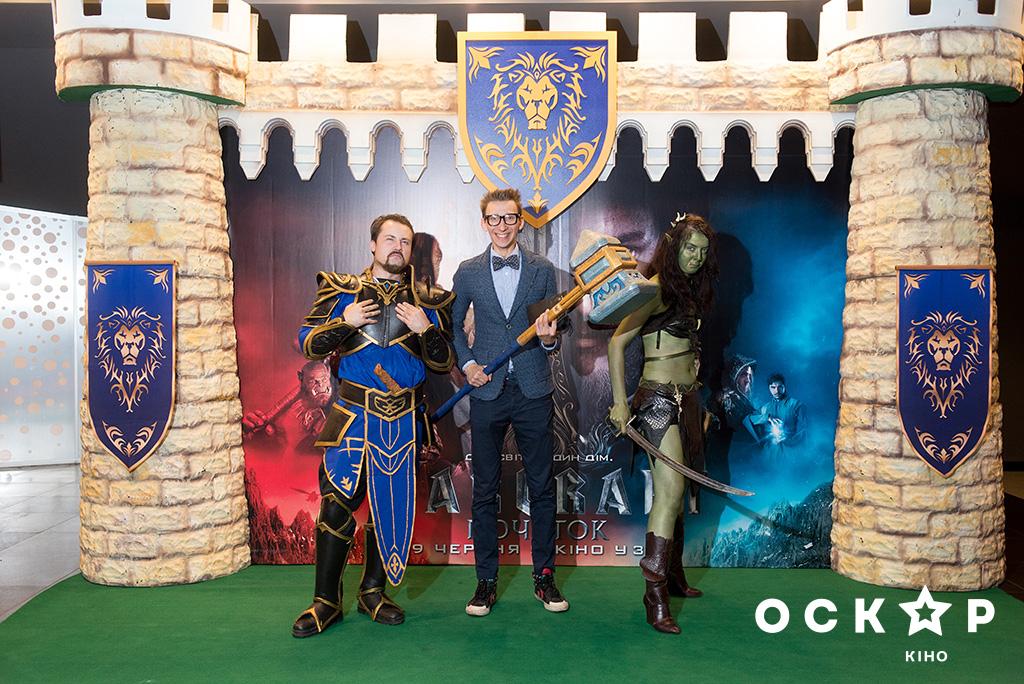 Катя Осадчая и Соломия Витвицкая сходили на премьеру фильма Warcraft: Начало