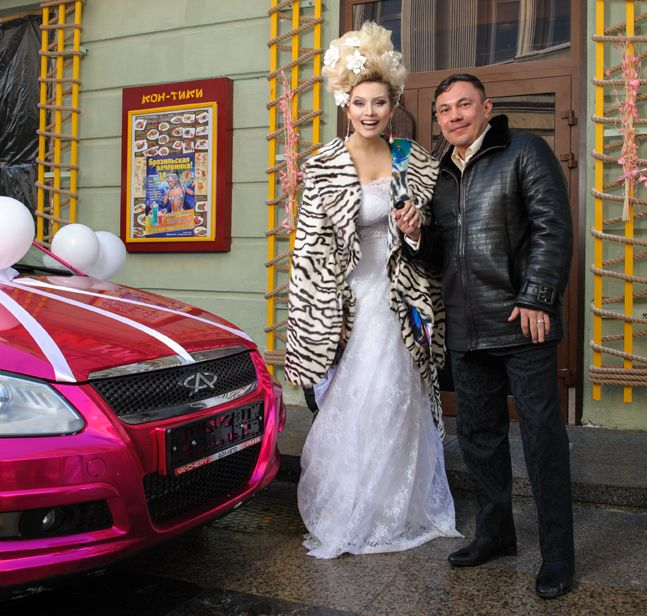 Костя Дзю и Лена Ленина