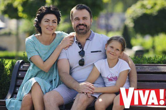 Антон Лирник и его жена Марина
