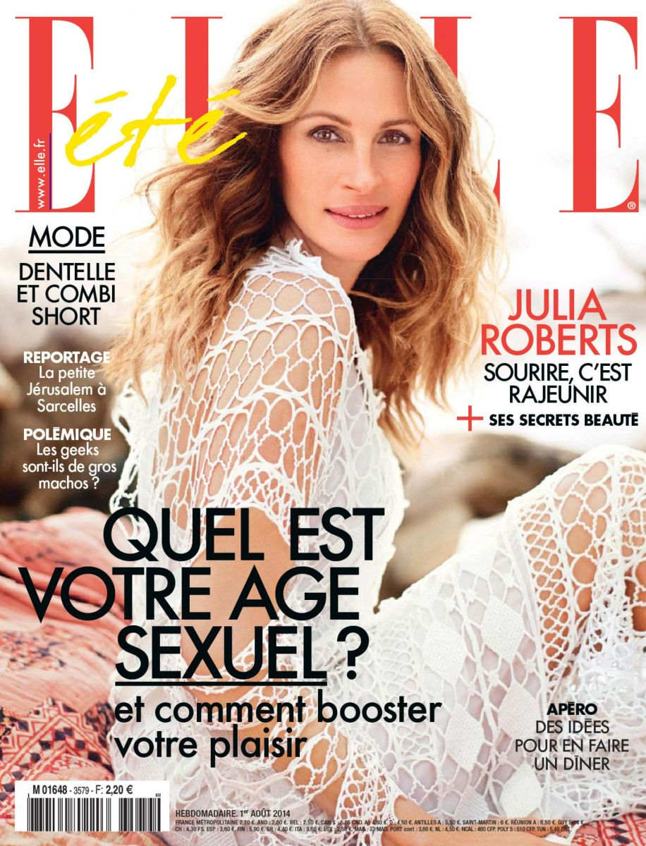 Джулия Робертс блистает на страницах французского глянца