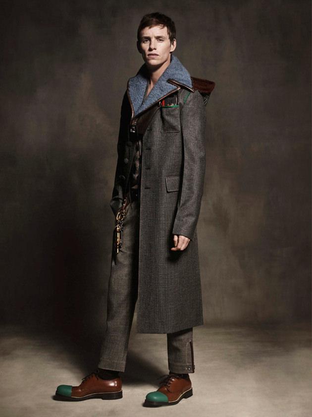 Эдди Редмэйн стал лицом новой коллекции Prada