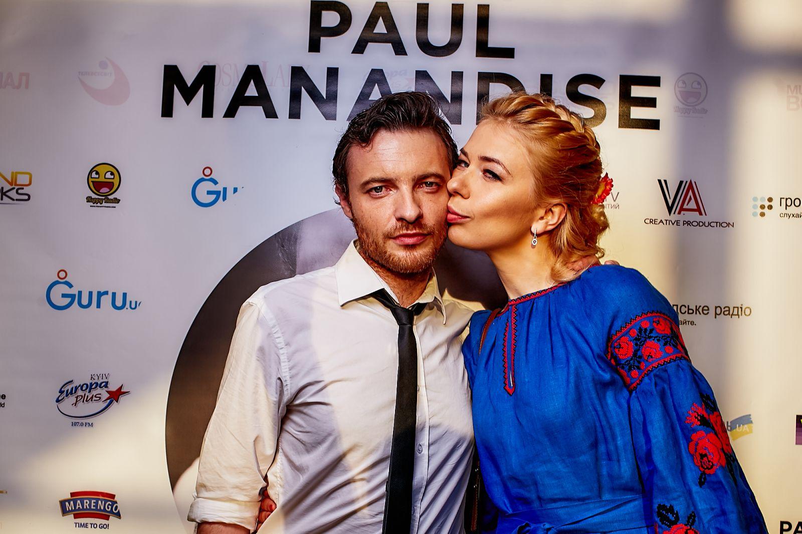 Поль Манондиз с женой Еленой