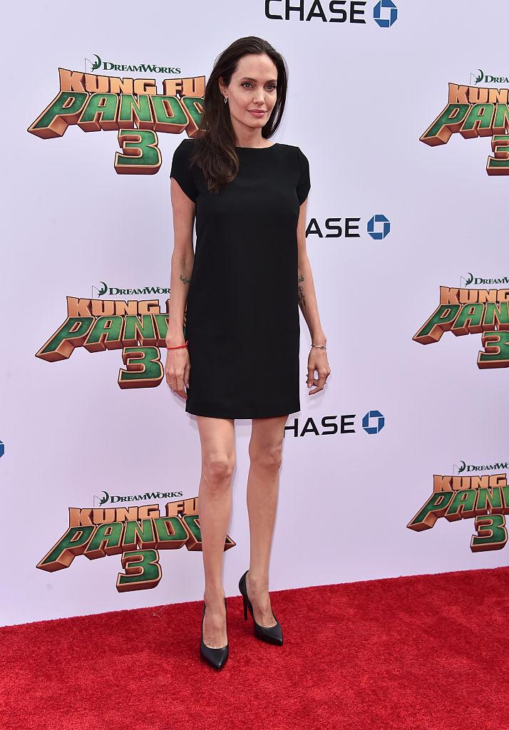 Инсайдер: Анджелина Джоли ест только раз в три дня и весит 34 кг!