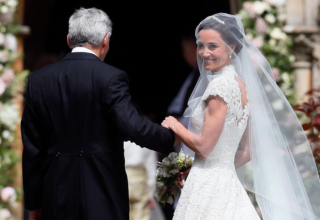 Стало известно имя дизайнера, который создал свадебное платье Пиппы Миддлтон