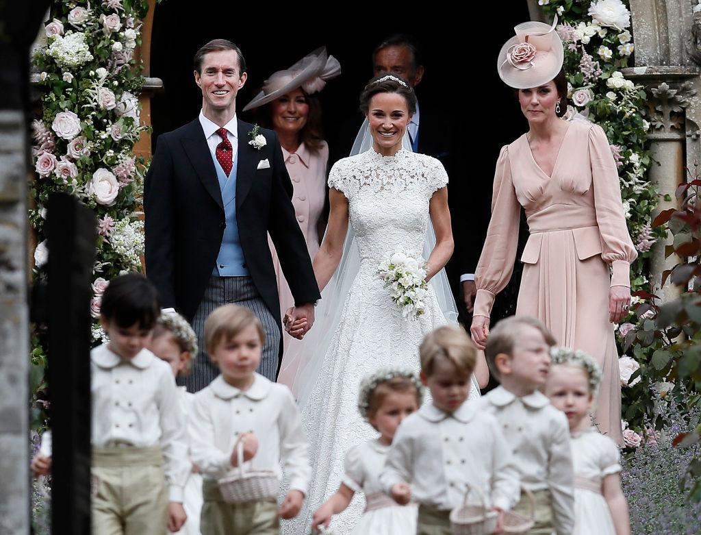 Пиппа Миддлтон вышла замуж: фото с церемонии