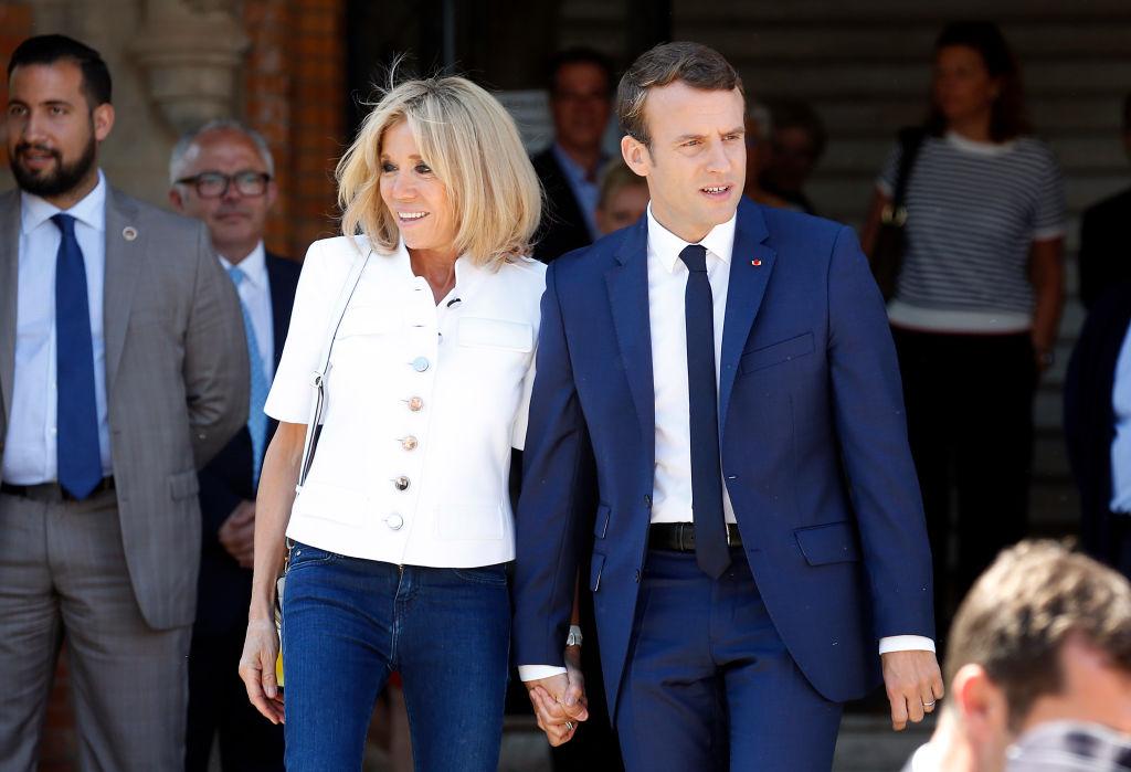 64-летняя первая леди Франции Брижит Макрон снялась для обложки глянца