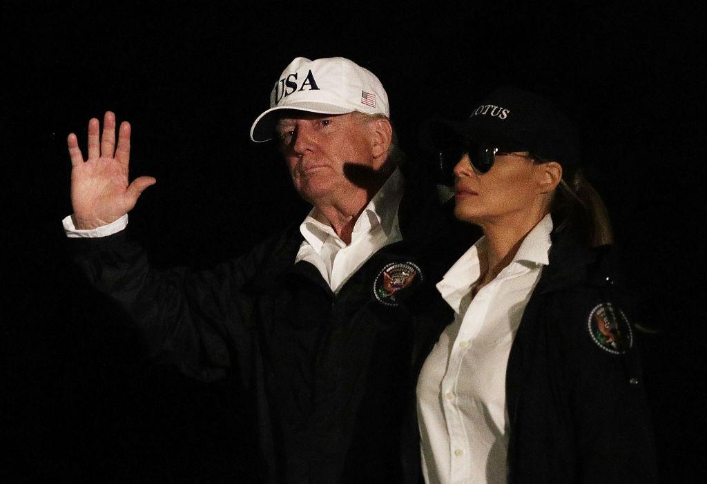 Мелания Трамп появилась на публике в костюме шерифа