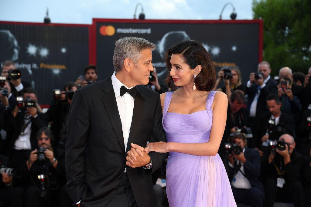 Джордж и Амаль Клуни дали первое интервью после рождения детей