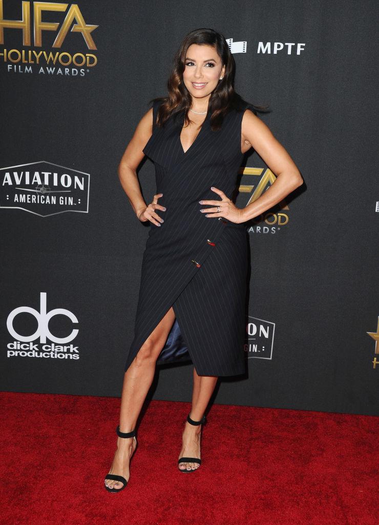 Анджелина Джоли, Кейт Уинслет, Ева Лонгория и другие голливудские красотки блистают на премии Hollywood Film Awards