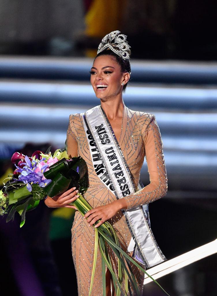 В конкурсе красоты Мисс Вселенная – 2017 победила представительница ЮАР