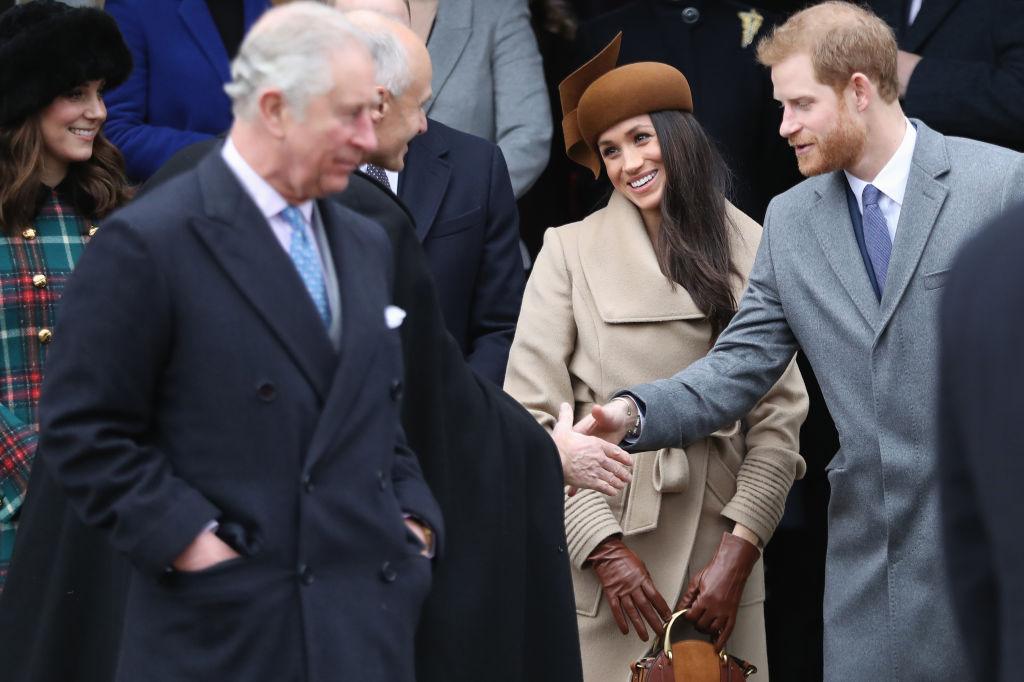 Принцы Уильям и Гарри появились на публике с супругами Кейт Миддлтон и Меган Маркл