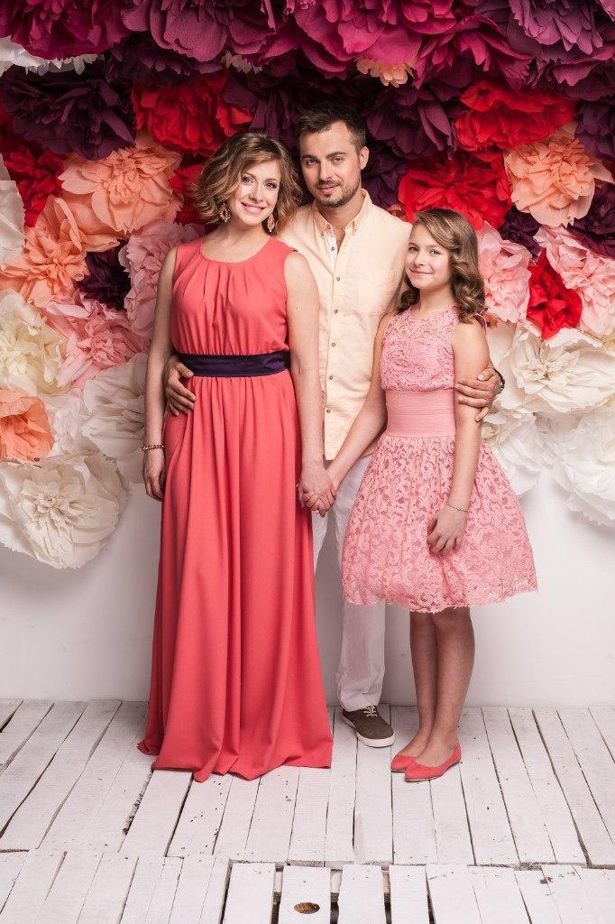 Семейные фотографии Елены Кравец: красавица-дочь и любимый муж