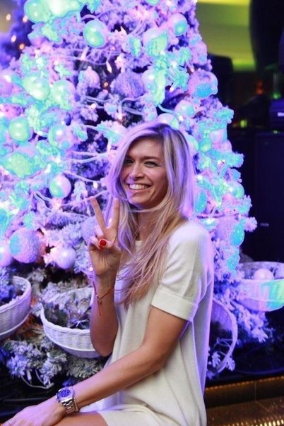 Вера Брежнева Новый год 2013