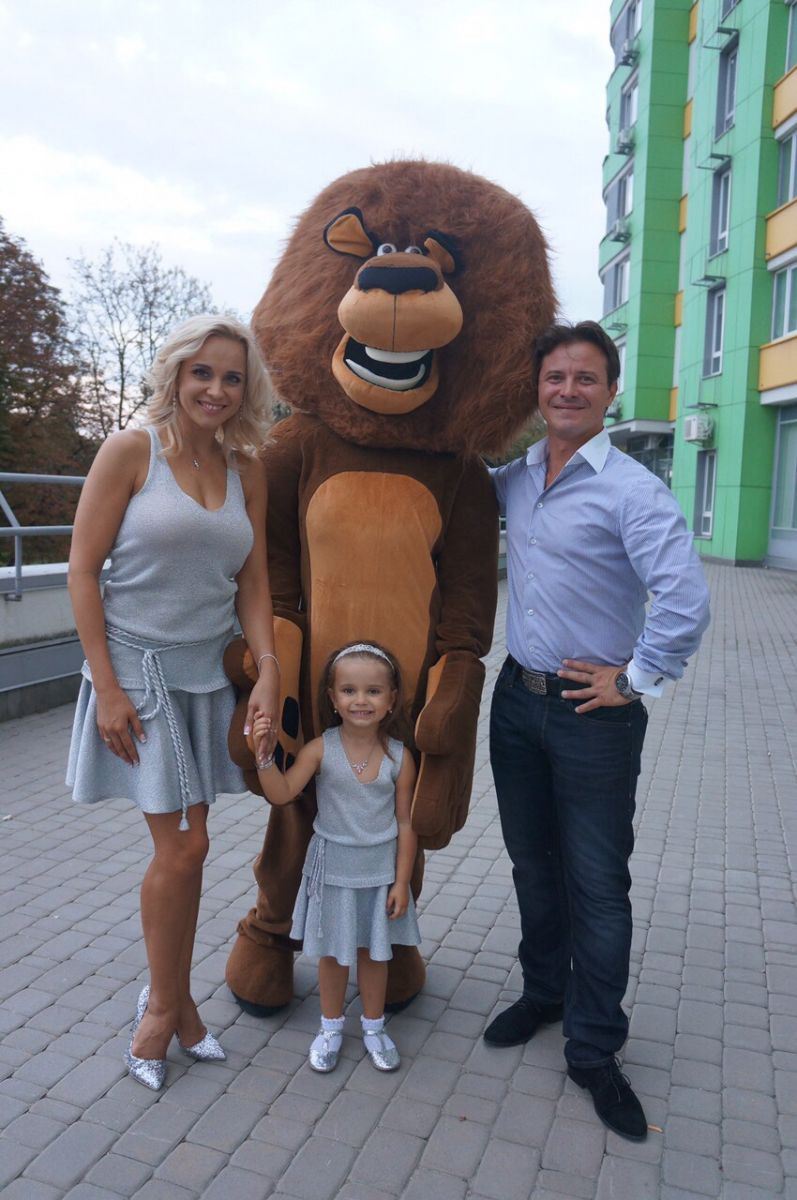 Лилия Ребрик и Андрей Дикий готовят свадебный подарок для своей 4-летней дочери
