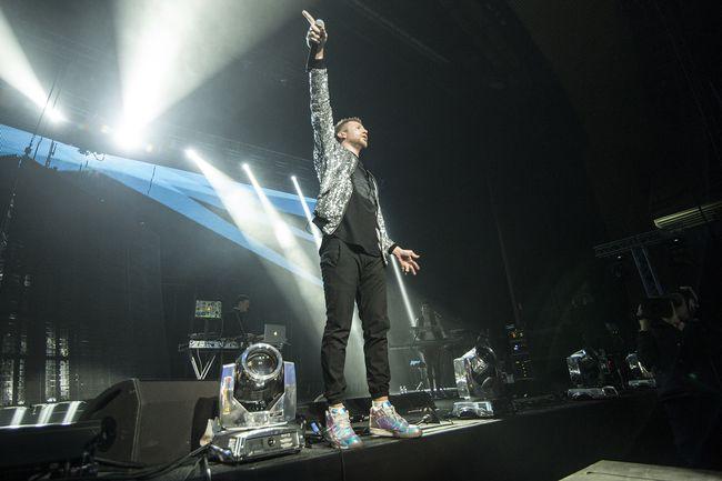 Иван Дорн почтил память Кузьмы Скрябина на концерте в Киеве