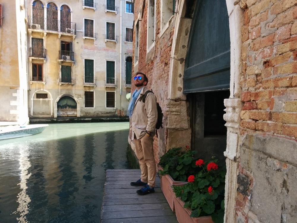 Ведущий программы «Утро в Большом Городе» (ICTV) Антон Равицкий провел отпуск в Венеции