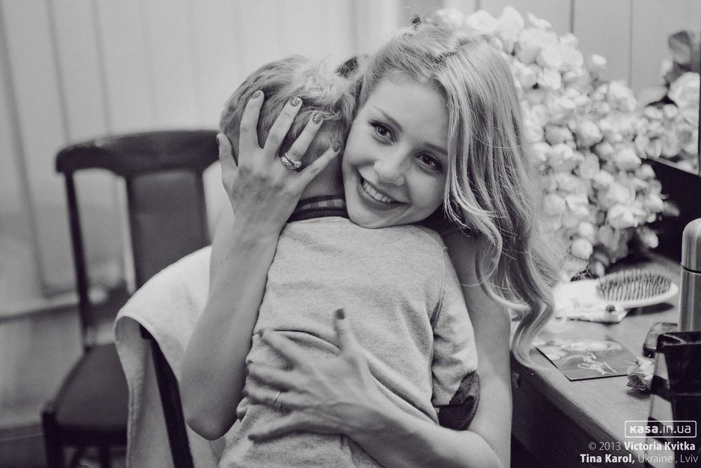 Тина Кароль сын фото 2013