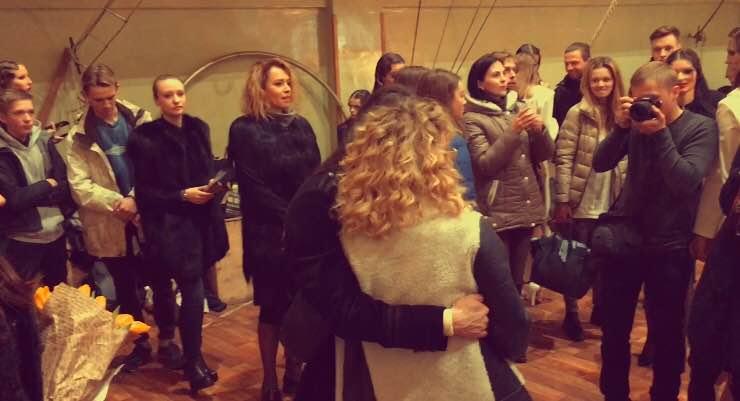 Loboda посетила показ Жана Грицфельдта в цирке