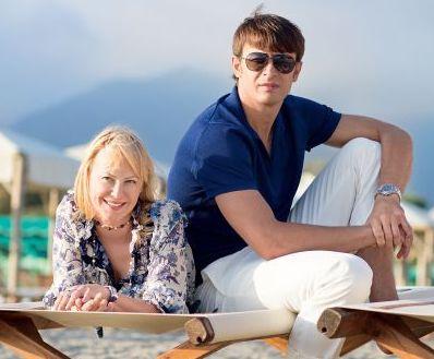 Александр Шовковский и его жена Ольга Аленова