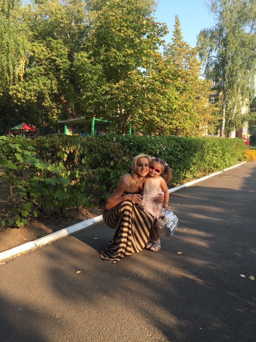 3-летняя дочь Лилии Ребрик