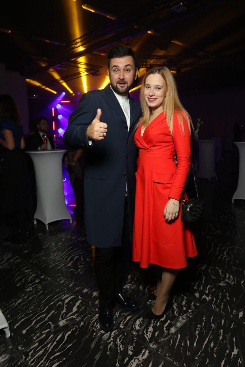 Иван Городецкий с женой Валерией