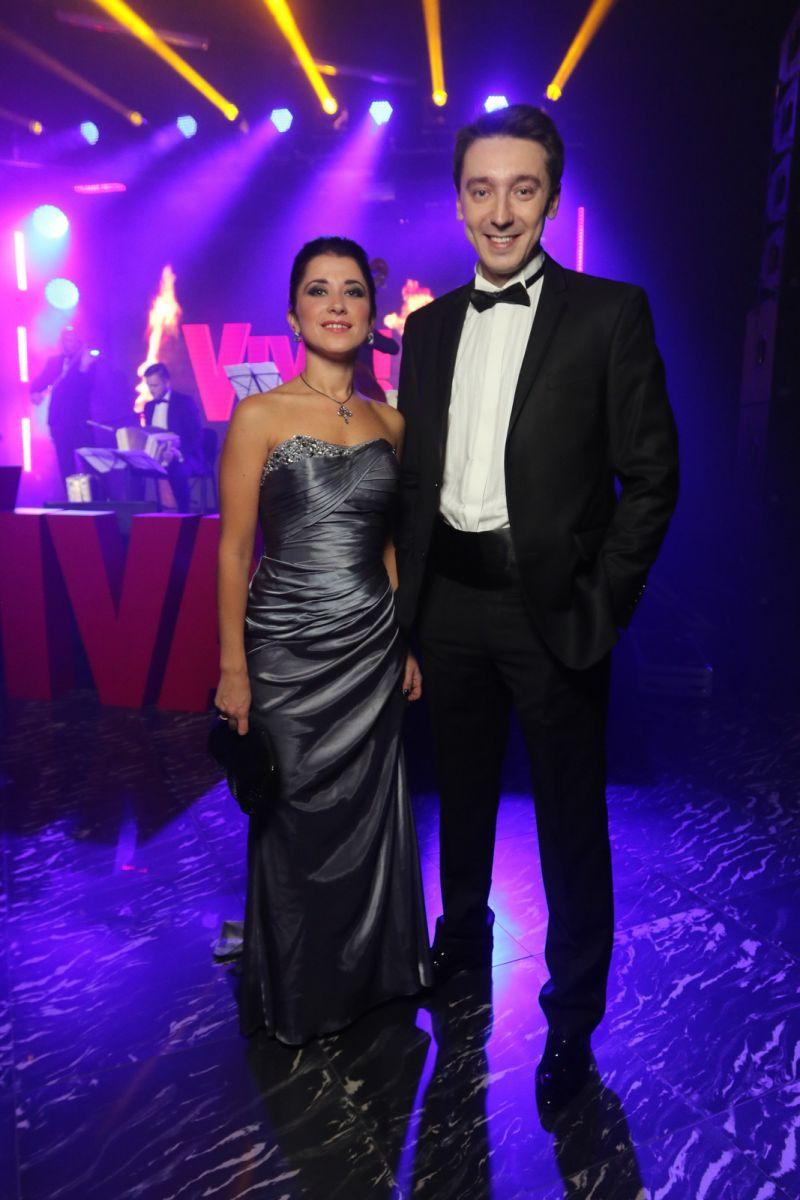 Михаил Присяжнюк с женой Валерией