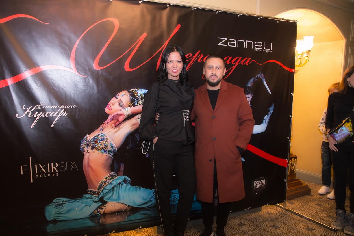 Monatik, Ирина Горовая, Остап Ступка посетили премьеру балета с участием Екатерины Кухар
