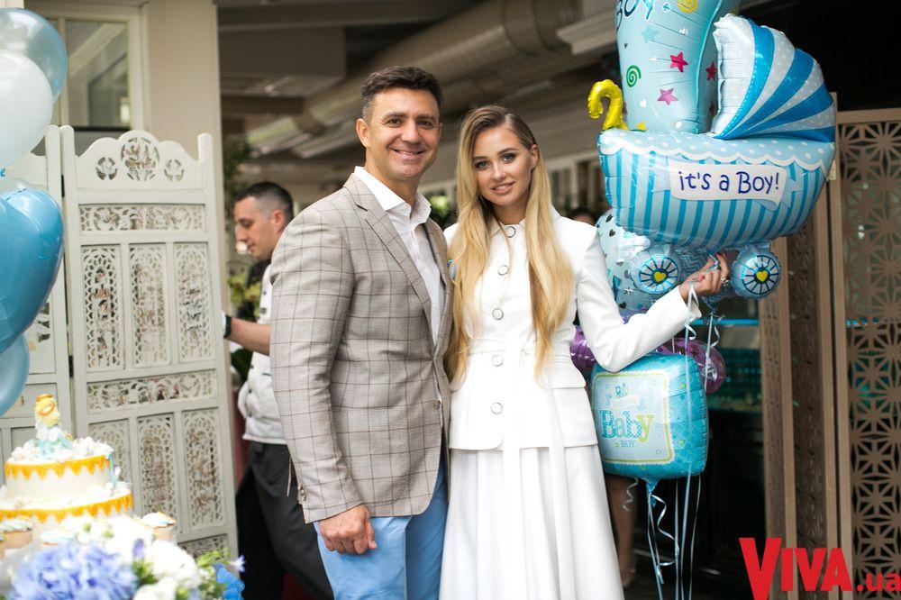 Николай Тищенко и его жена Алла Барановская покрестили сына