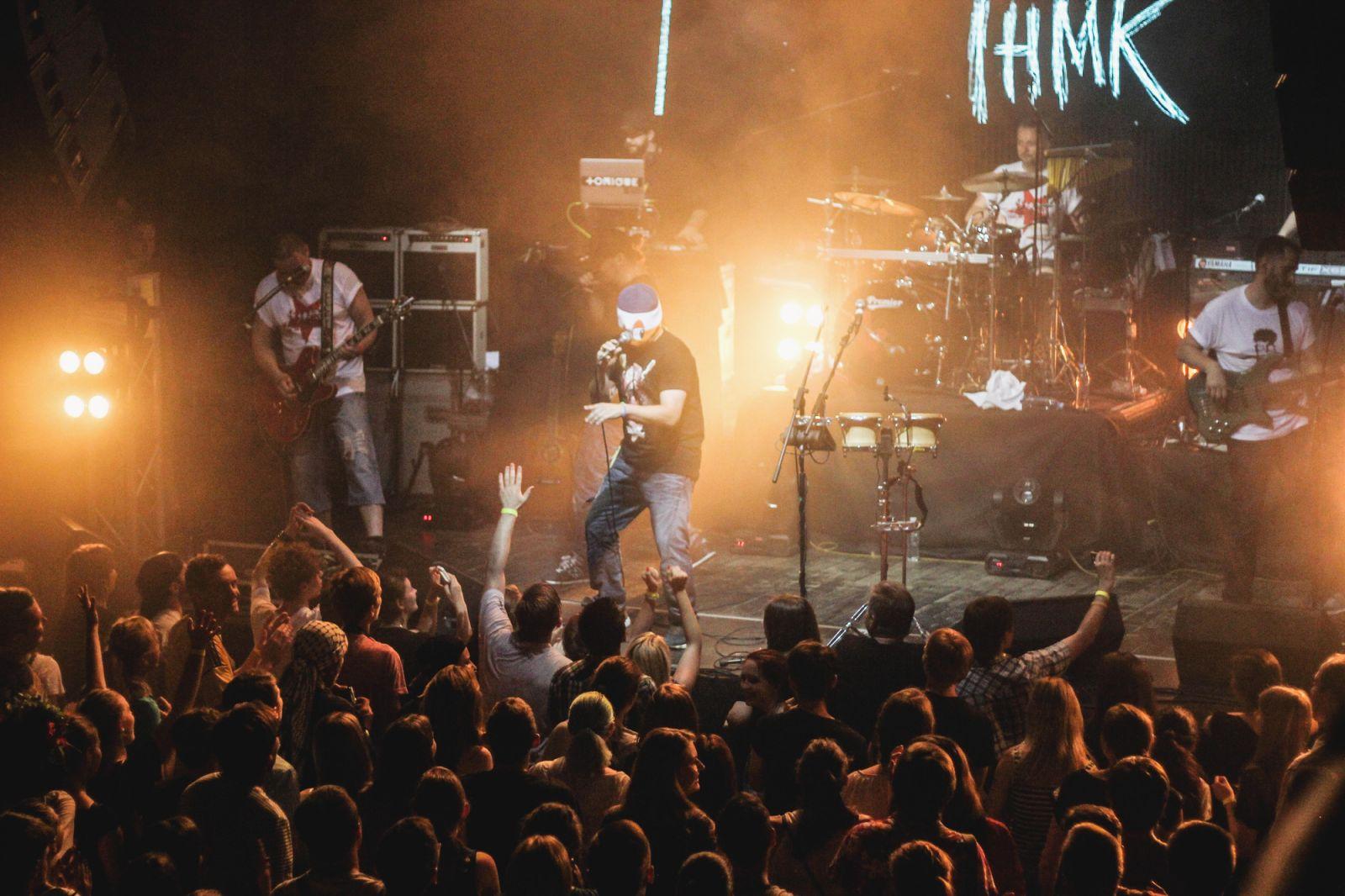 Иво Бобул спел рэп на дне рождения ТНМК