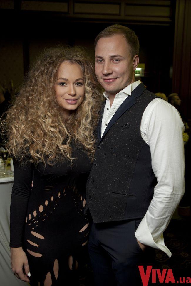 Яна Соломко с супругом Олегом