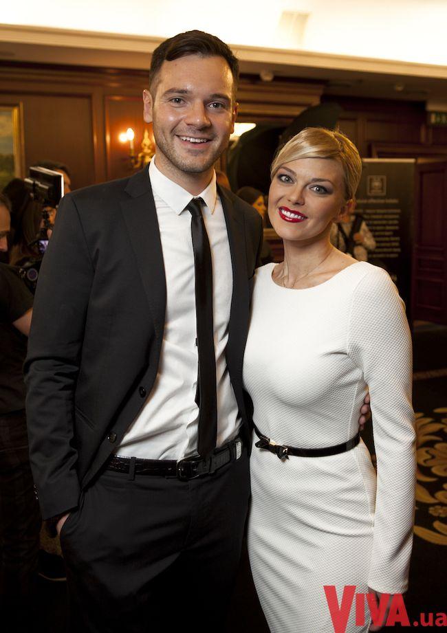 Ирина Блохина с мужем Алексеем Брынзаком