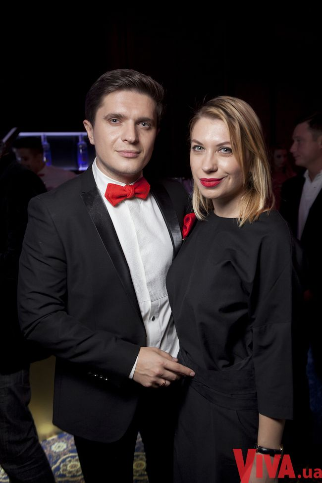 Анатолий Анатолич с супругой Юлией