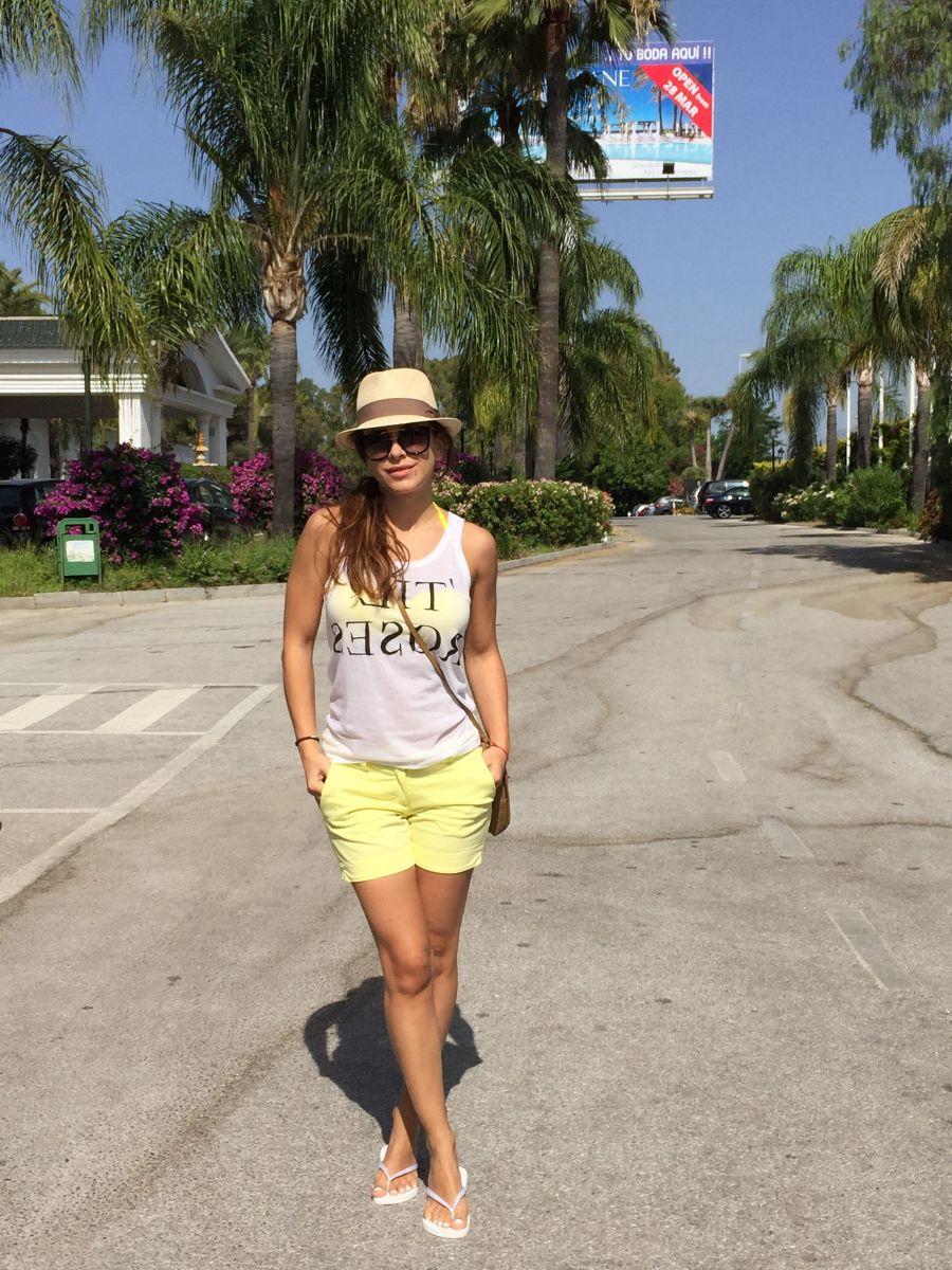 Ани Лорак на отдыхе