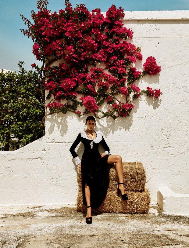 Знойная красотка: Ирина Шейк соблазняет со страниц японского Vogue