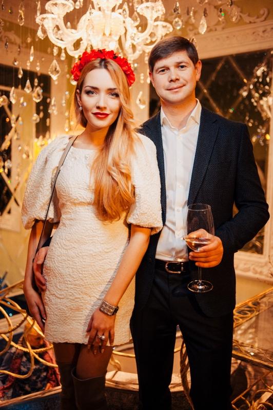 Виктория Чекурда с мужем Тарасом